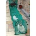 Deck & Patio - løbegang til terrasse og andre hårde flader - Kittywalk® transportabel kattegård