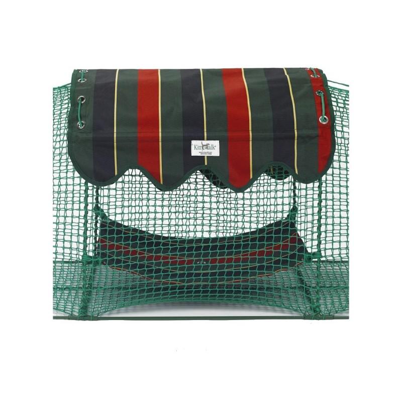 Kabana - awning and hammock - Kittywalk® portable outdoor cat enclosure