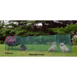 Kabana - markise og hængekøje - Kittywalk® transportabel kattegård