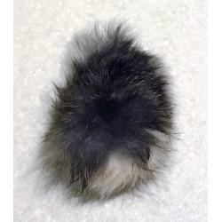 Rabbit tail fur ball