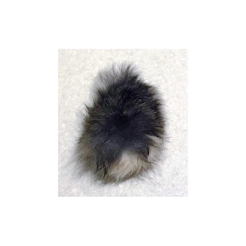 Kaninhale pelsbold - naturlegetøj til katte