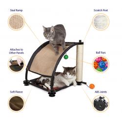 Climbing Hill - Kitty City® kattetræ legeplads modul