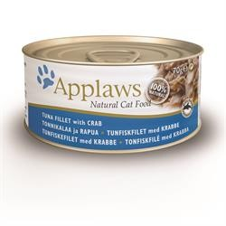 5 stk Applaws Cat 70g Tun &...